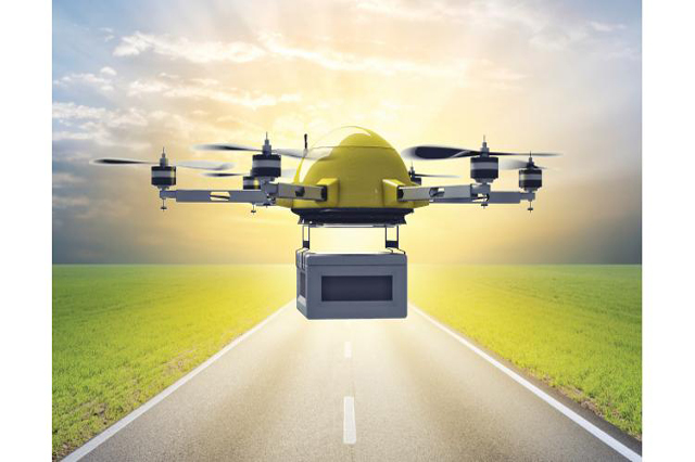 Drones in Packaging Distribution