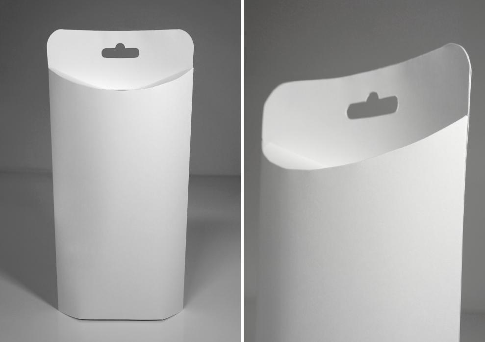 A standing pillow box design