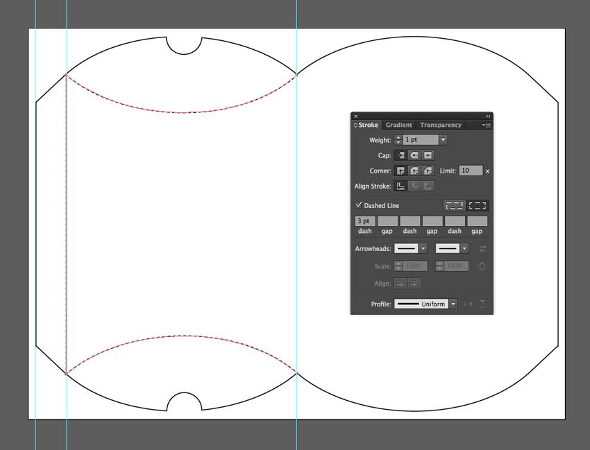 Adobe Illustrator at work