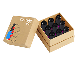 Customized Nail Polish large size box