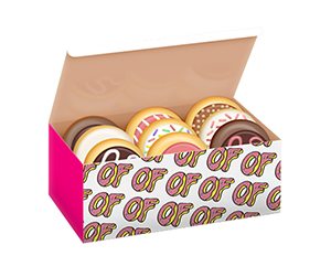 Packaging of Donut