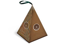 Pyramid shape gift Boxes