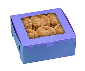 customized widnow Cookie Boxes