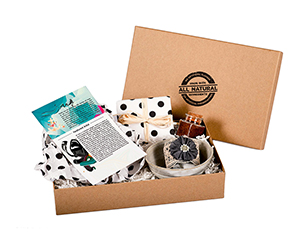 Kraft material Subscription Boxes