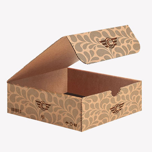 Double Wall Tuck Top flat structure box template