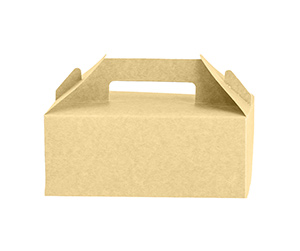 brown colour corrugated and Kraft aterial Gable Boxes