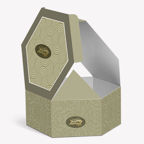 Hexagon packaging ideas for products