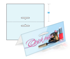 Display boxes design with structure flat blue colour