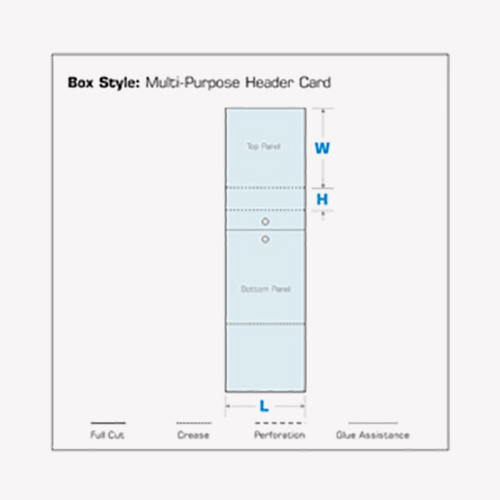 Multi-Purpose Header Cards