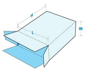 Seal End Box diagram with dimensions