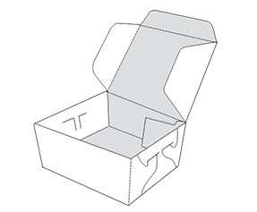 Side Lock Six Corner Boxes